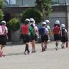 登下校地域避難訓練