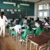 【6年】 暑くても授業に集中!