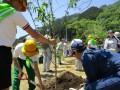 【環境美化委員会】群馬県植樹祭に参加しました!