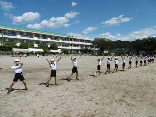 【低学年】運動会練習